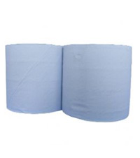 Blue Rolls 2ply Pack 2 (400mtr x 280mm)