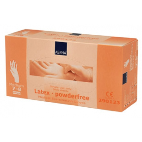 GLOVES LATEX POWDER FREE SIZE XL BOX 100