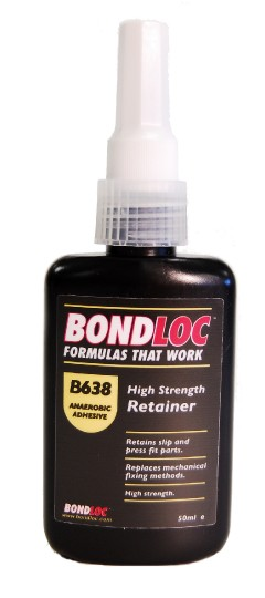 Bondloc 638-50ml High Strength Fast Cure