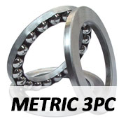 Metric 3 Piece Ball Thrust