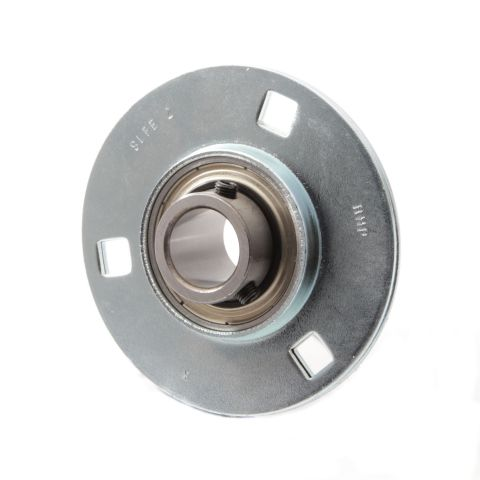 Pressed Steel 3 Bolt Round housing