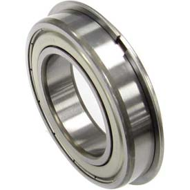 Bearing Shield With Snap Ring