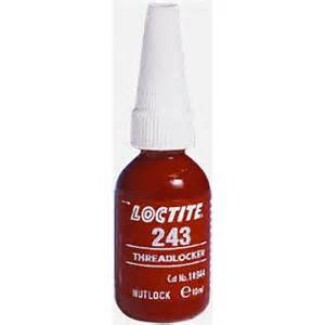 Loctite 243-10ml Medium Strength Threadlocker