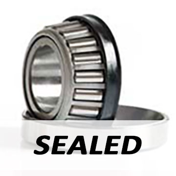 48548/10 Sealed Type) - Single Row - Taper Roller Bearing - 34.925 x 65.088 x 19.94""