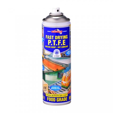 PTFE H1 Food Grade Dry Film Lubricant 500ml