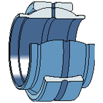 """GEG 40 ES - Spherical Plain Bearing - 40 x 62 x 40/22"""