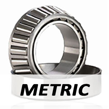 """30206 - Metric - Single Row - Taper Roller Bearing - 30 x 62 x 17.25"""