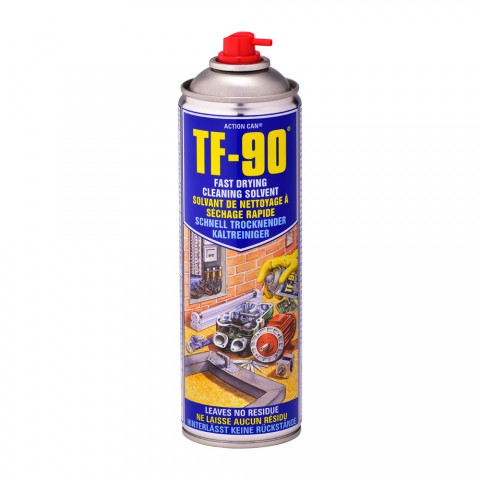 TF-90 Fast Drying Cleaning Solvent and Degreaser 500ml
